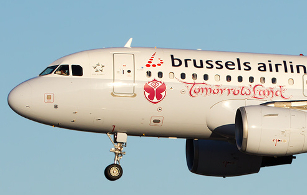 Tomorrowland temporary aicraft branding - Brussels Airlines