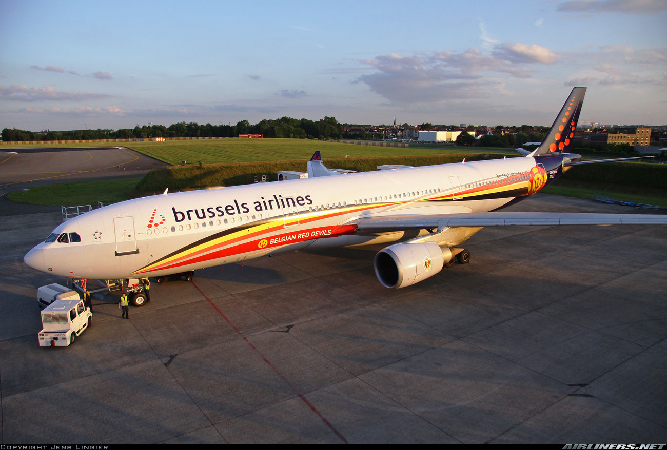 Brussels Airlines - Belgian Red Devils