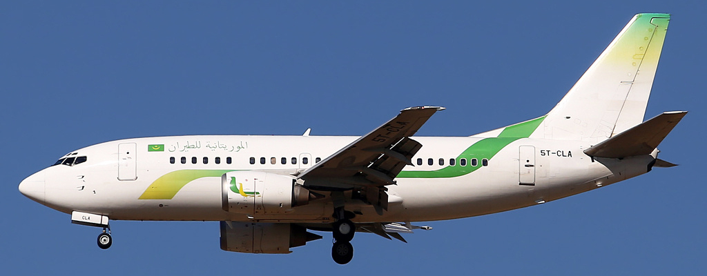 Illustration for: Mauritania Airlines opts for BCO Aviation markings for their B737 aircraft