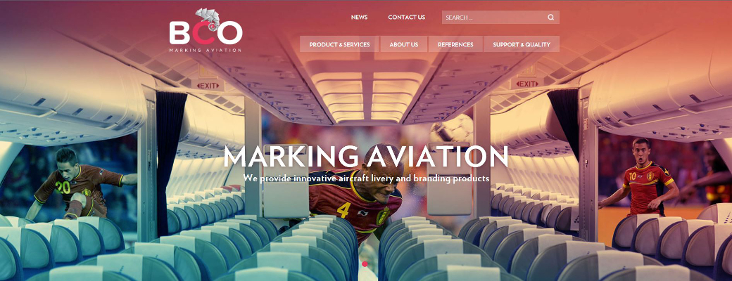 Illustration for: BCO Aviation launches its new website!