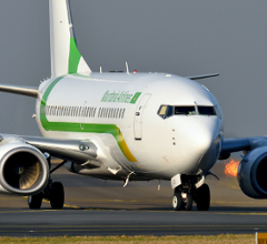 Illustration of: Mauritania Airlines opts for BCO Aviation markings for their B737 aircraft