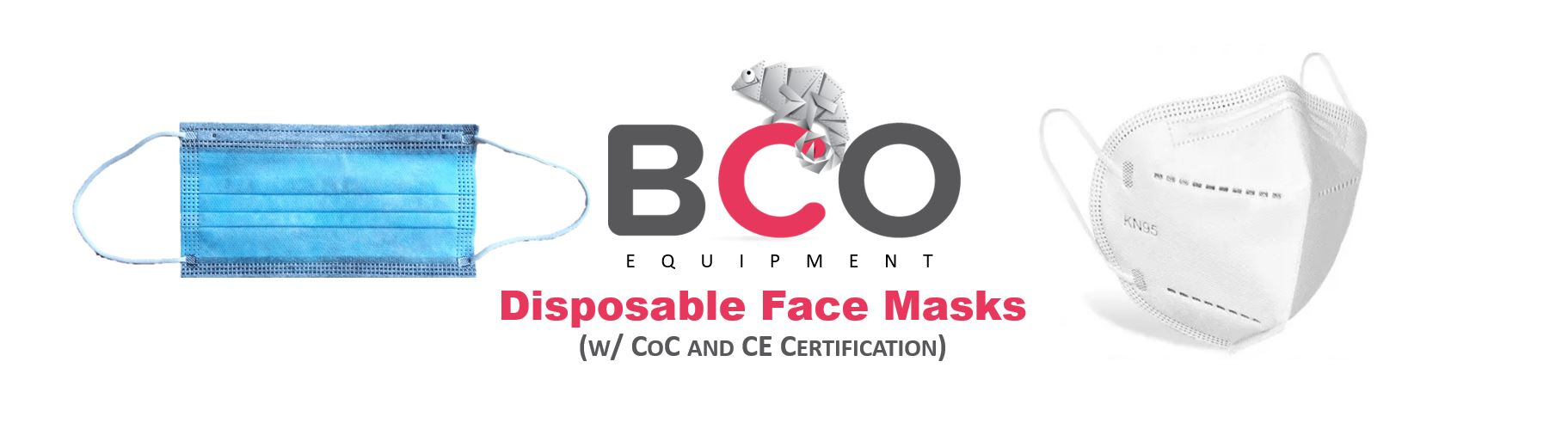 Illustration for: BCO Equipment (Disposable Face Masks)