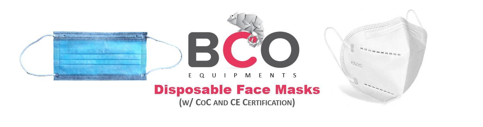 Illustration for: BCO Equipments: Disposable Face Masks (ORDER NOW)