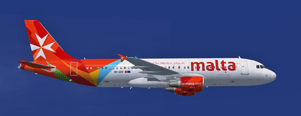 Illustration for: Air Malta orders 200.000 headrest covers (antimacassars)