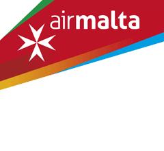 Illustration of: Air Malta orders 200.000 headrest covers (antimacassars)