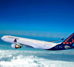 Illustration of: Brussels Airlines turns A330-300 to Tomorrowland colours with BCO