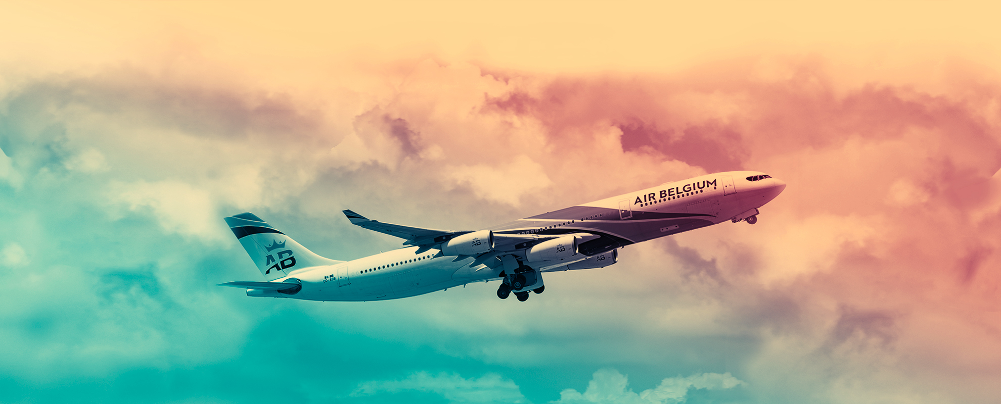 Illustration for: New Belgian carrier Air Belgium contracts BCO Aviation for its A340 livery