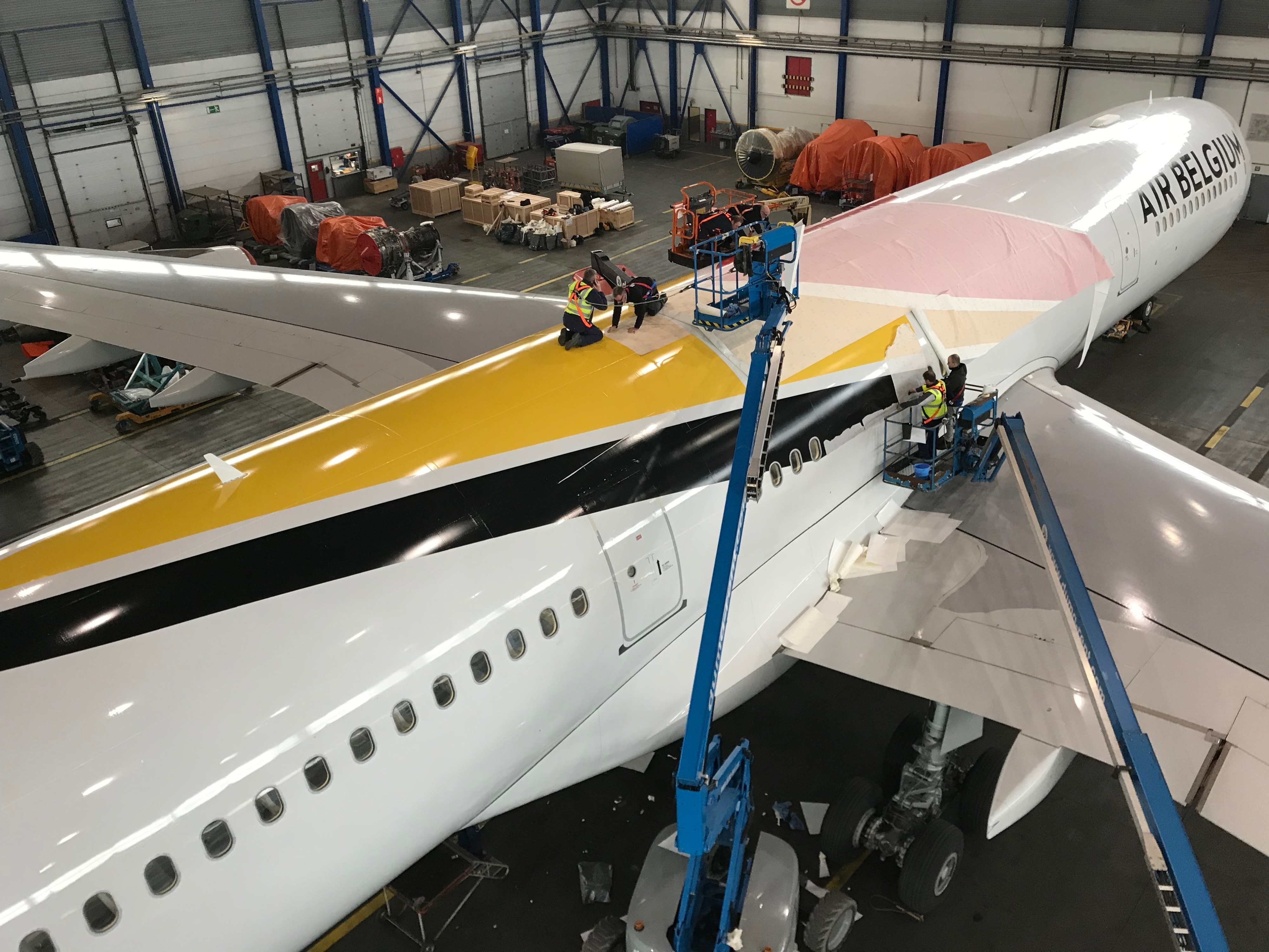 Case study: New Belgian carrier Air Belgium contracts BCO Aviation for its A340 livery