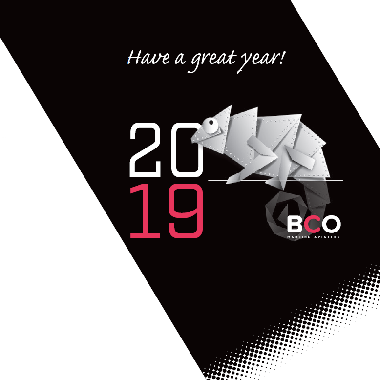 Illustration of: Happy New Year and best wishes from BCO