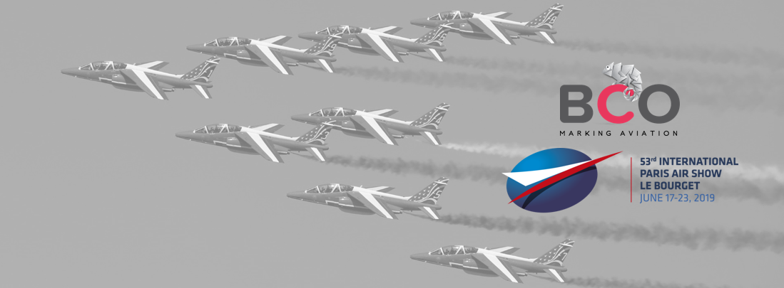 Illustration for: BCO Aviation exhibits at the International Paris Air Show