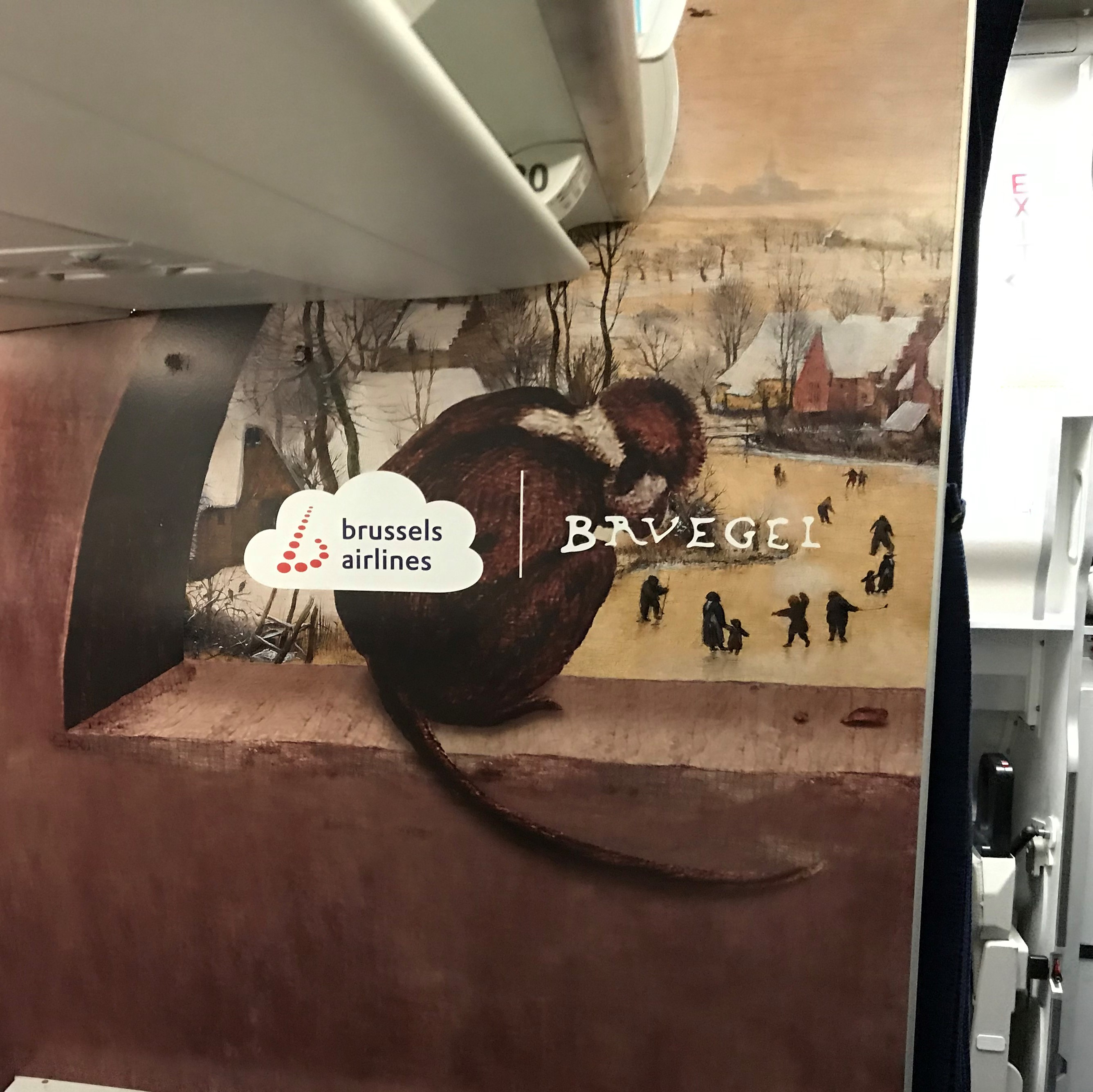 "Illustration of: BCO participates in ""BRUEGEL"", the new Brussels Airlines Belgian Icon"