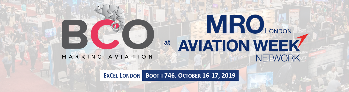 Illustration for: BCO Aviation exhibits at MRO Europe 2019