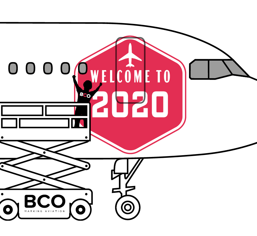 Illustration of: Happy 2020!