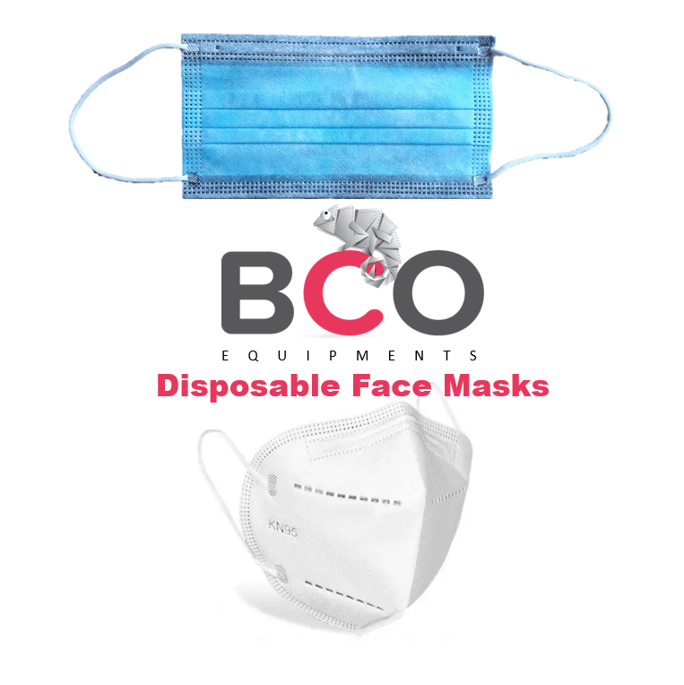 Illustration of: BCO Equipments: Disposable Face Masks (ORDER NOW)