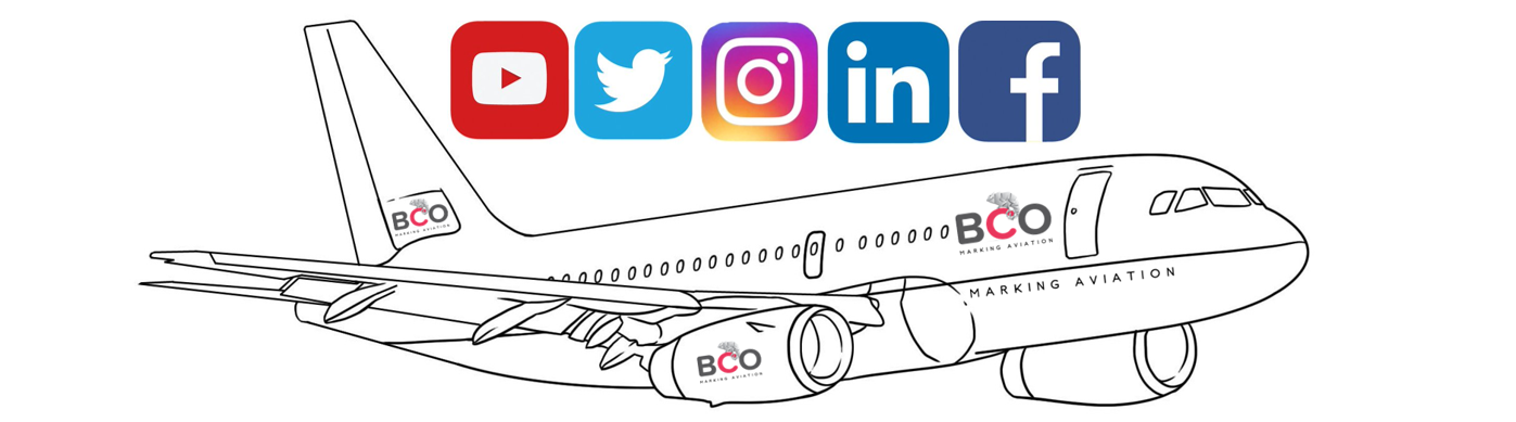 Illustration for: BCO Aviation on Social Networks