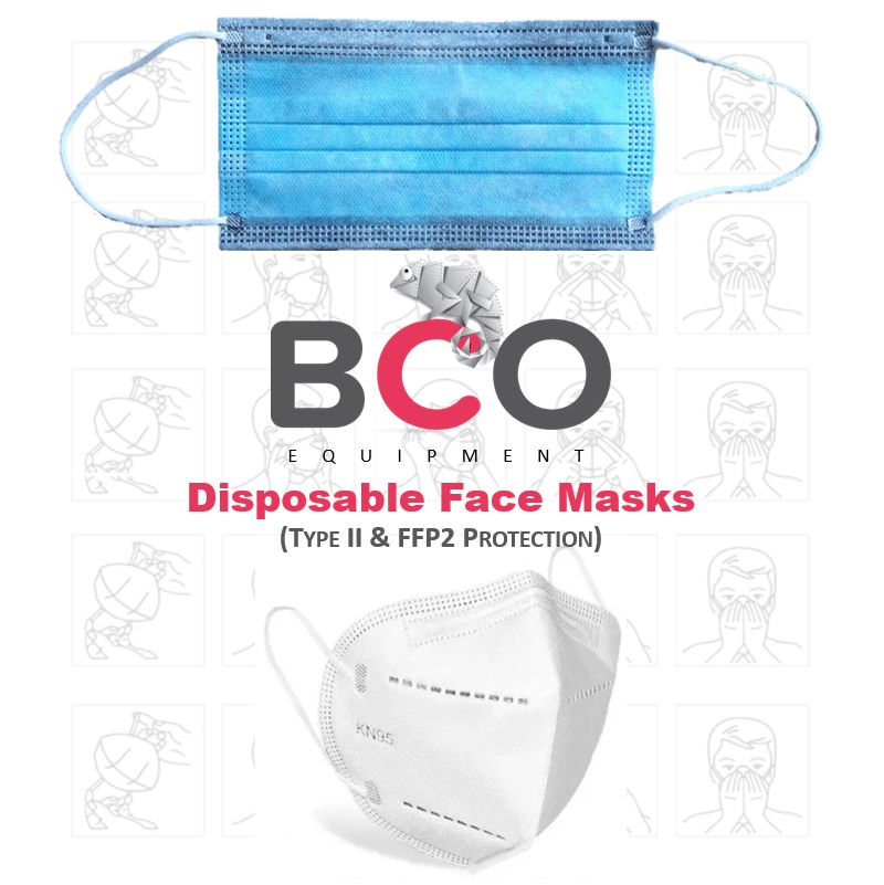 Illustration of: BCO Equipment: Disposable Face Masks (ORDER NOW)