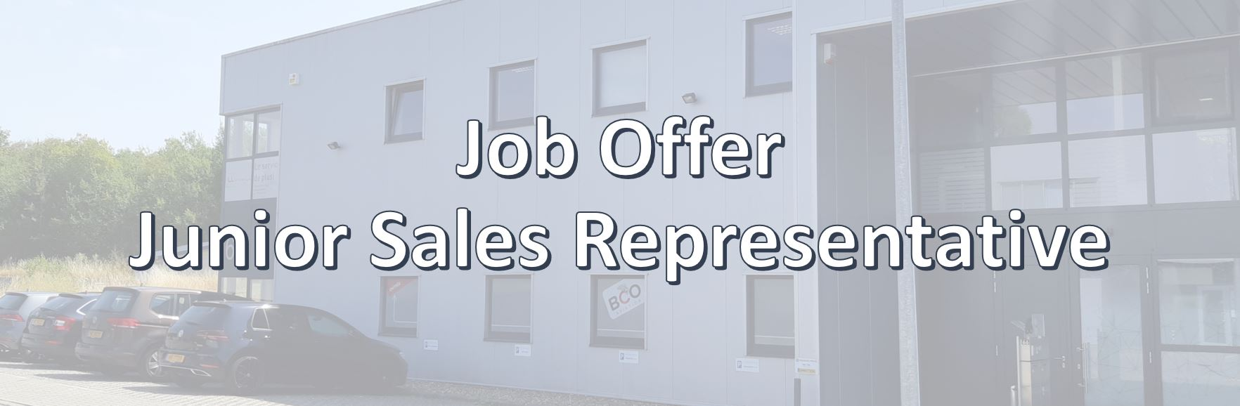 Illustration for: Job Offer: Junior Sales Representative within BCO Aviation (Closed)