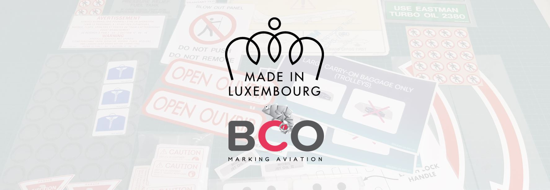 """Illustration for: BCO Aviation obtains """"Made in Luxembourg"""" label"""
