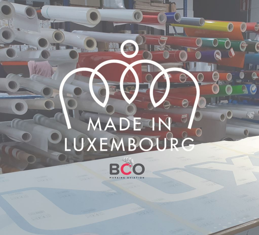 "Illustration of: BCO Aviation obtains ""Made in Luxembourg"" label"