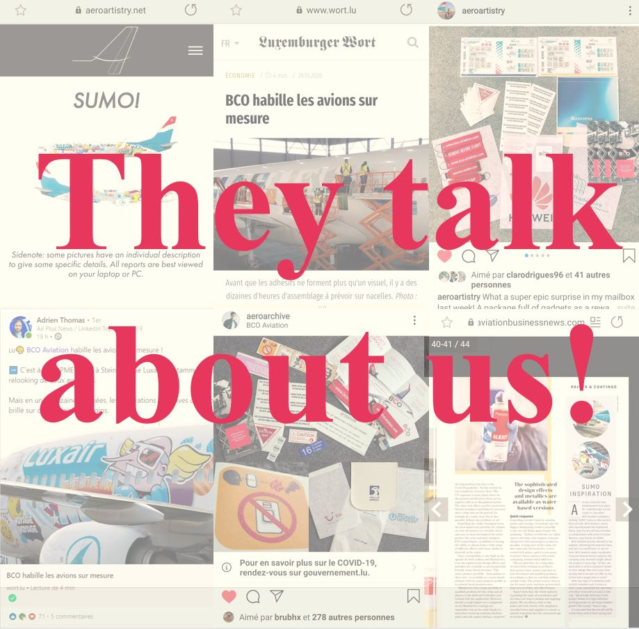 Illustration of: They talk about us! (Media & Press)