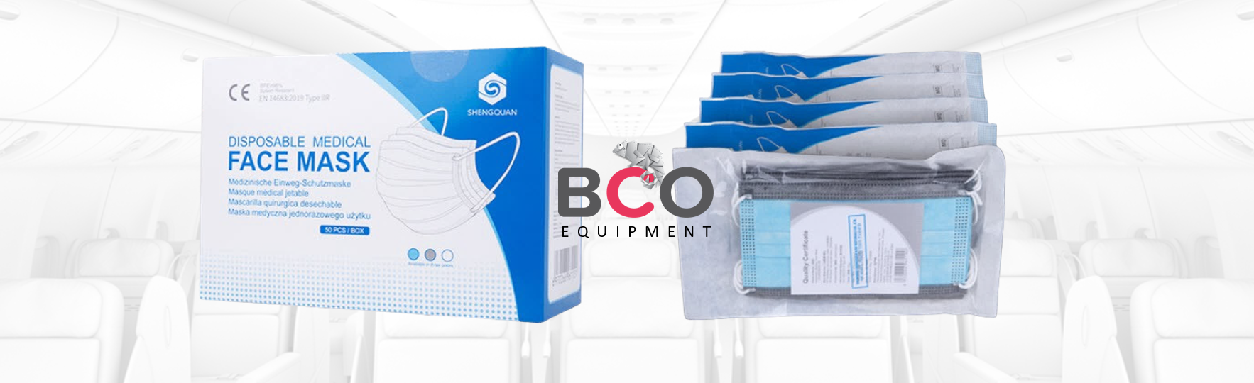 Illustration for: BCO Equipment (Face Masks): Discover our New Conditionning!