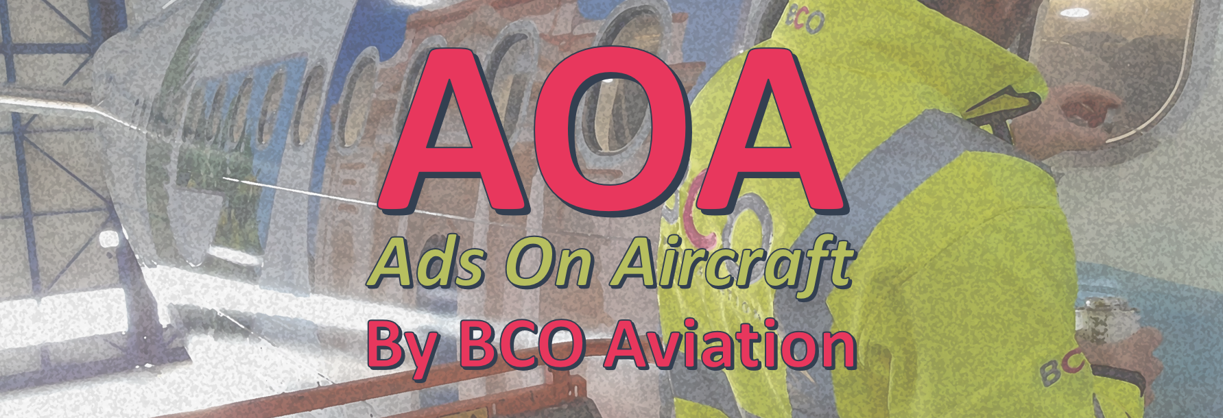 Illustration for: Ads on Aircraft (AOA): Get revenues from aircraft covering